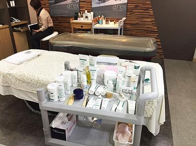 各种进口的皮肤管理产品